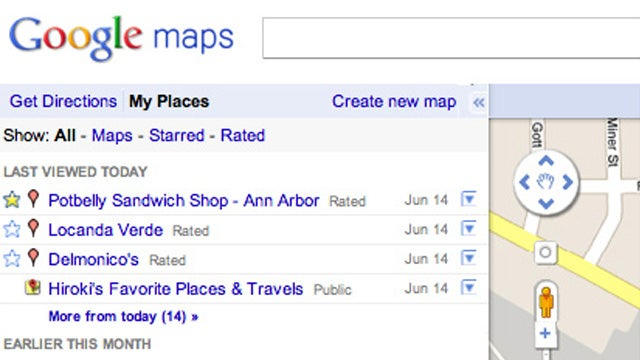 Google Is Streamlining Google Places and Maps with My Places