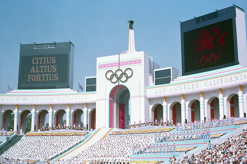How L.A.'s 1984 Summer Olympics Became the Most Successful Games Ever
