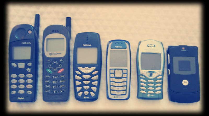 Do You Remember Your First Mobile Phone?