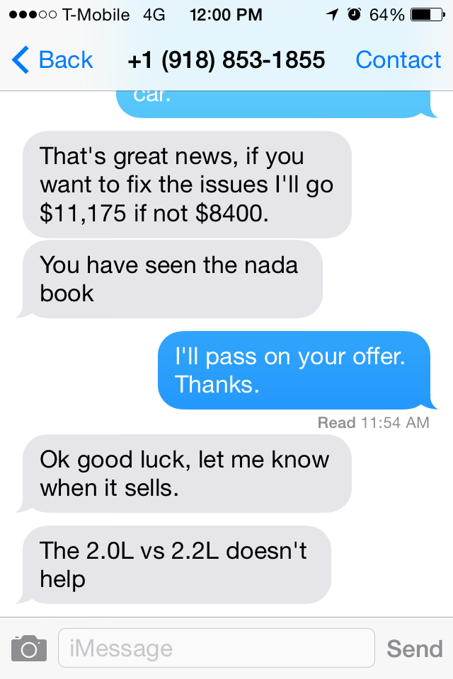 Shit I Have To Put Up With: Craigslist Arguing