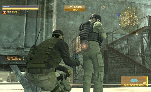 "First Metal Gear Online ""Gene Expansion"" Details"