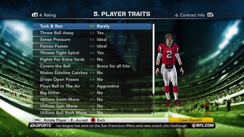 Madden NFL Dynamic Player Performance