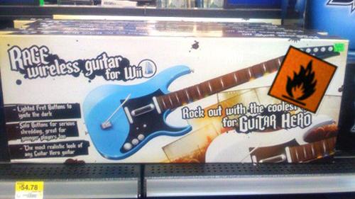 Rage Wireless Guitar Leaks Acid, Can Burn Your Rock Jewels
