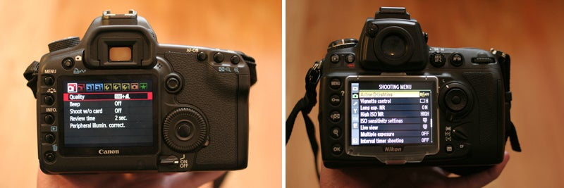 Canon 5D Mark II vs. Nikon D700 Review Shoot-Out