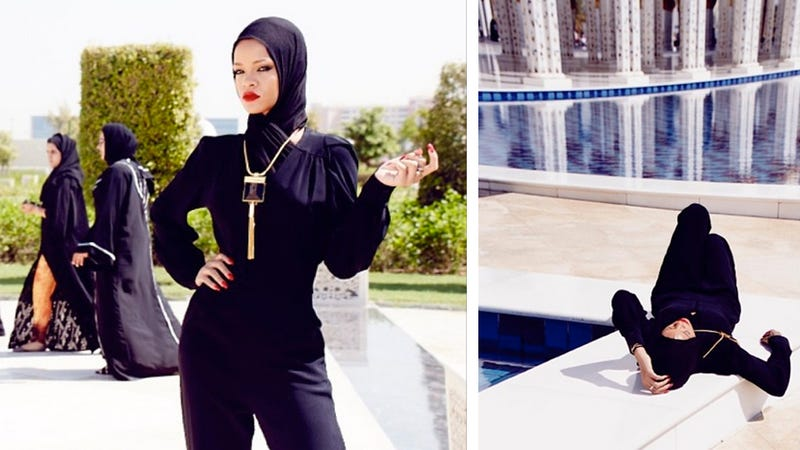 Rihanna Got Kicked Out of a Mosque Over the Weekend