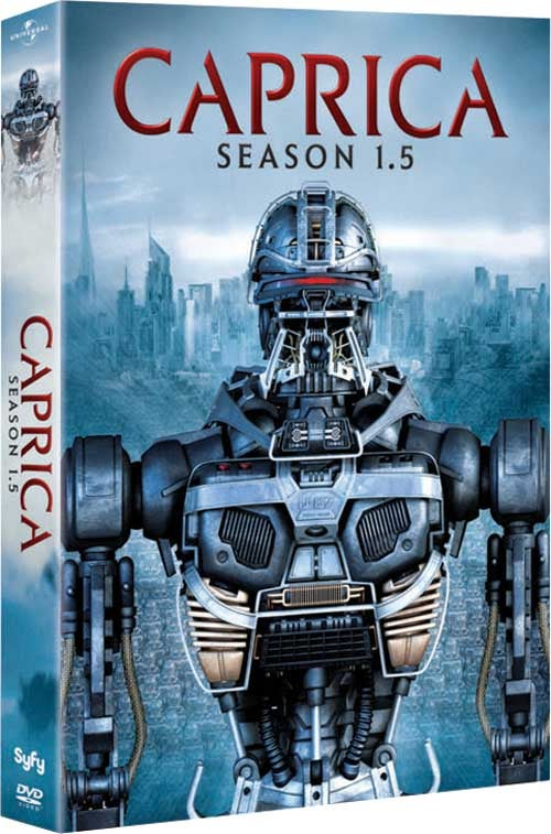 Syfy will burn off the last Caprica episodes in early January
