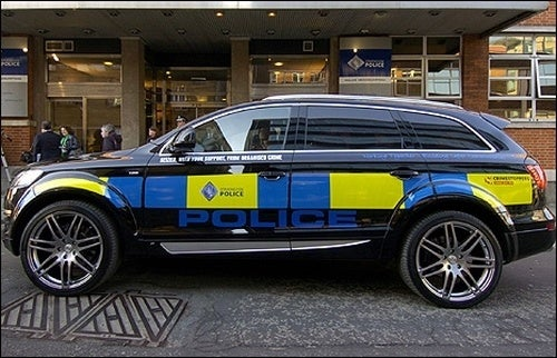 Scottish Police Roll Gangster-Style In Seized Q7 TDI