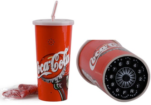 Coca-Cola Cup Phone Actually Works, Provides You With Perfect Maxwell Smart Disguise