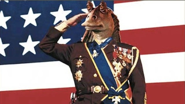 Jar Jar Binks outed as a scumbag Imperialist collaborator