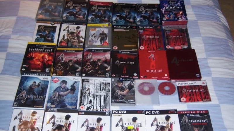 One Dude, All The Resident Evil 4 Games