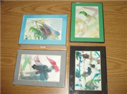 Weekend Project: Frame your kids' art projects