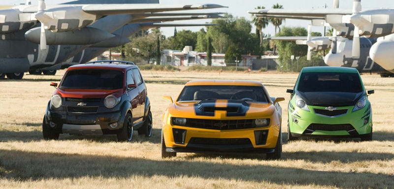 Chevy To Drop Marketing Of Transformers 2