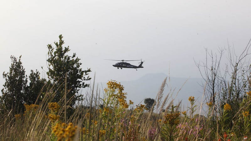 Mexican Helicopter Flies Into U.S., Shoots at Border Patrol Officers