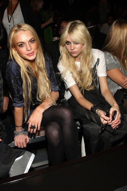 Taylor Momsen Tops Lindsay Lohan