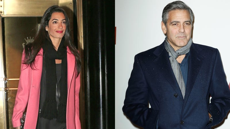 Amal Alamuddin 'Blows Off' George Clooney's Family Reunion