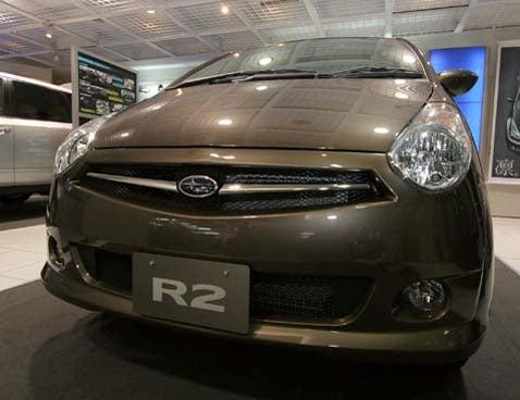 More Japanese-Market Goodness: Subaru R2