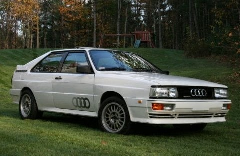 Cars that don't get enough Love: Audi Coupe GT