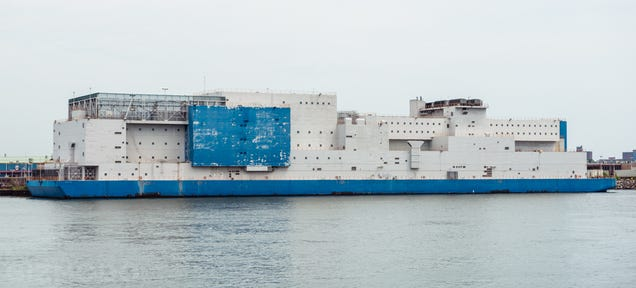 The World's Largest Floating Prison Is In NYC