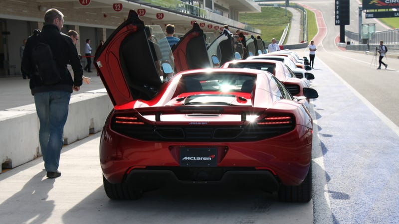 The Many Silly Faces of the McLaren 12C Spider