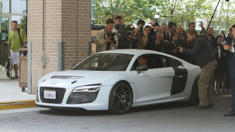 Tony Stark Dumped His Fake Acura NSX For An Audi R8 E-Tron In Iron Man 3