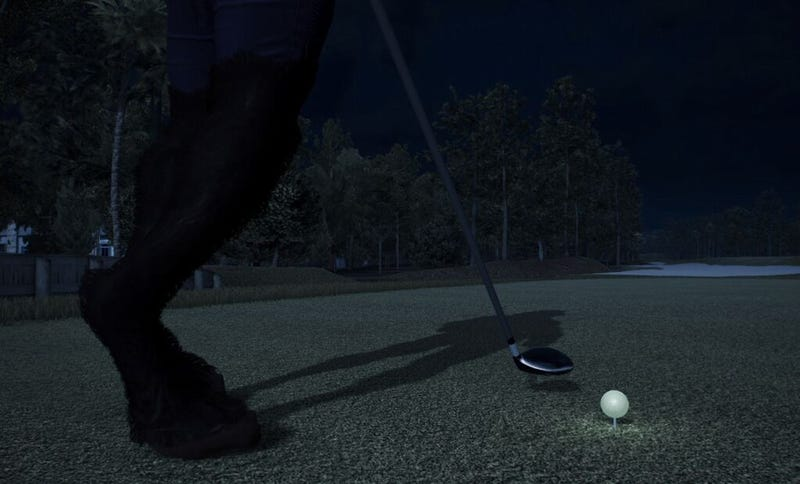 The Latest Celebrity Golfer in Tiger Woods PGA Tour is Satan, Apparently