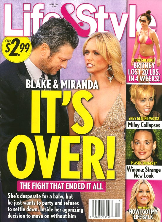 This Week in Tabloids: Miley in Danger of Drug-Induced Heart Attack