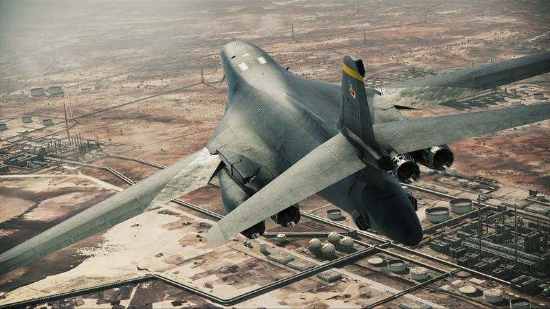 The Helicopters, Bombers, and Gunships of Ace Combat: Assault Horizon