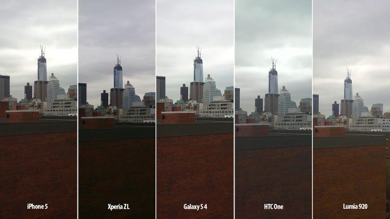 Comparativa: la cámara del Samsung Galaxy S4 frente a sus rivales