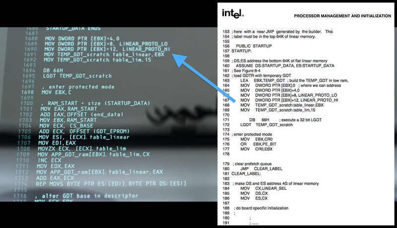 What all the fancy code in movie computer sequences actually mean