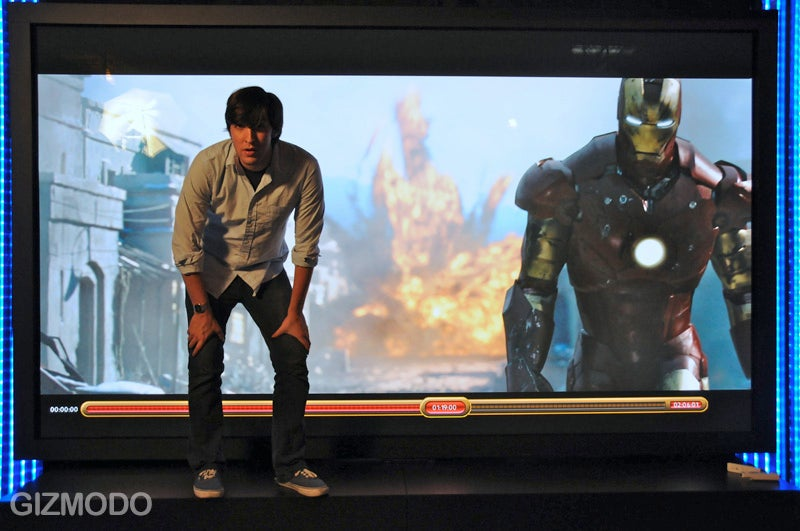 150-Inch TV In Action: It'll Melt Brains and Empty Wallets