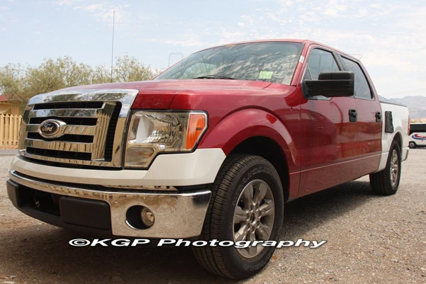 2009.5 Ford F-150 Diesel Spotted, Could Produce 350 HP