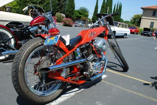 Arlen Ness Bike #6 Found In Oakland Garage, Gold Leaf Still Looks Great