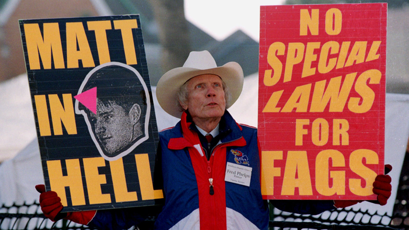 """""""God Hates Fags"""" Preacher Fred Phelps Is Dead"""
