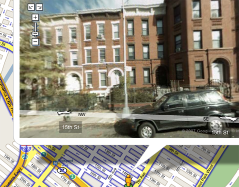 Avoid a parking ticket with Google Maps' Street View
