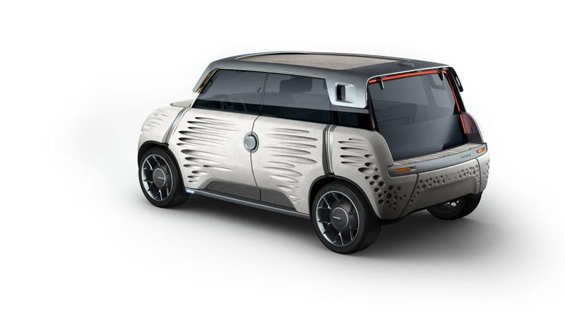Toyota's ME.WE Concept Is An Electric Truck/Car/Convertible/SUV