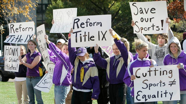 Is Title IX Hurting Men?
