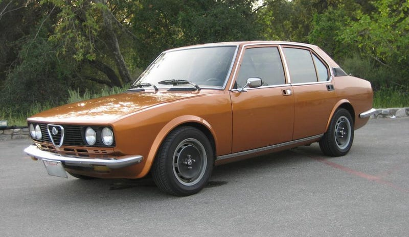 For $4,500, That's Alfetta Of Fish