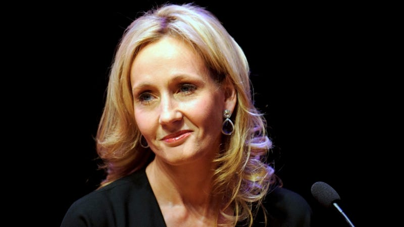 That Time J.K. Rowling Almost Snatched a Baby