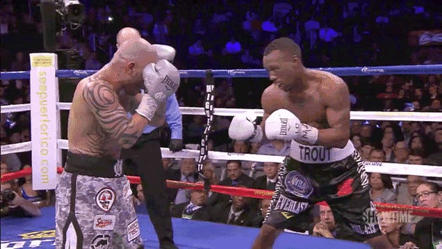 Cotto-Trout: The Sentimental Narrative Gets Its Lip Busted