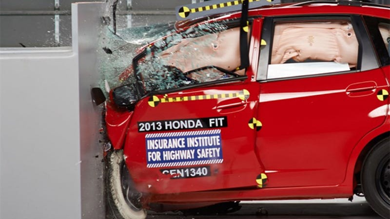 The Crash Test That Hammered The Honda Fit Is Bullshit