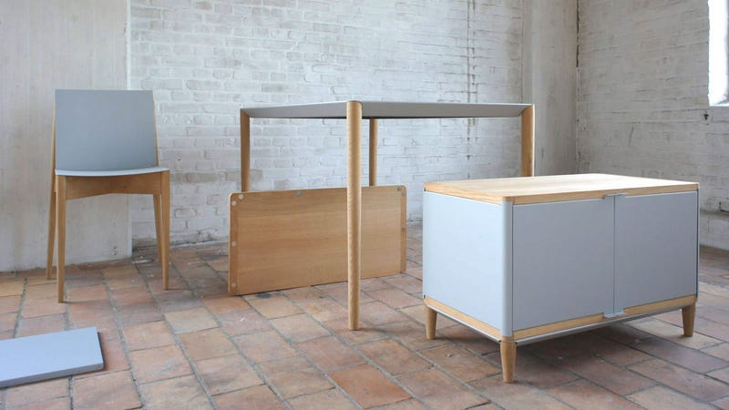 The Ikea Nightmare Is Over, Magnetic Flat-Pack Furniture Is Here