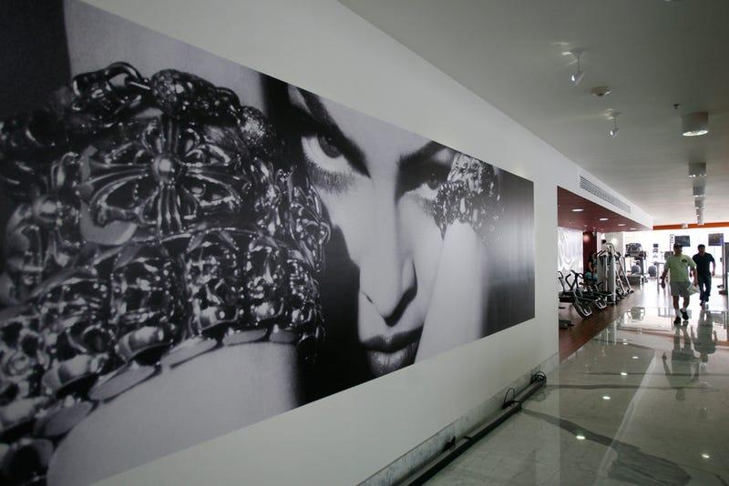 Peek Inside Madonna's New Madonna-Centric Gym
