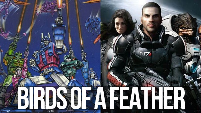 How Mass Effect is Becoming More Like Transformers