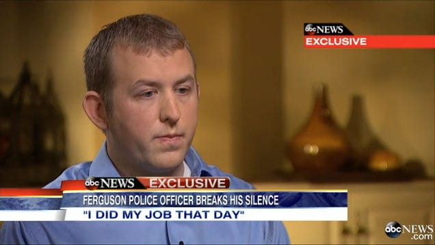 Darren Wilson Is Going to Be Some Unlucky Kid's Father