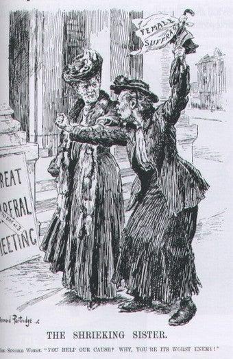 When Women Were Women, And Suffragettes Wielded Switches