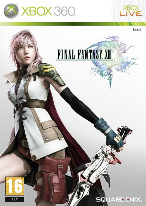 Final Fantasy XIII Box Art, Now With More Xbox 360