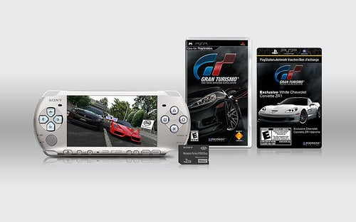 Limited Edition Gran Turismo PSP Comes With Music Voucher