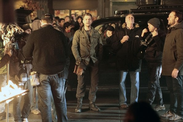 Fringe behind the scenes photos