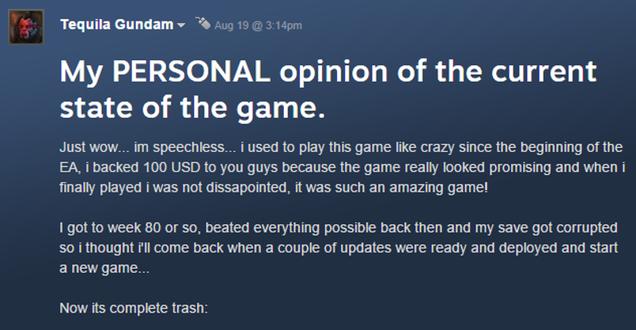 The Negative feedback