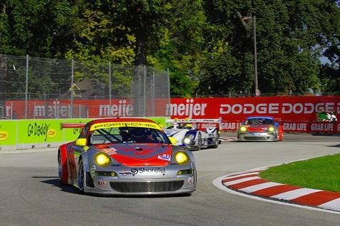 Viva America! American Driver Wins Porsche Cup